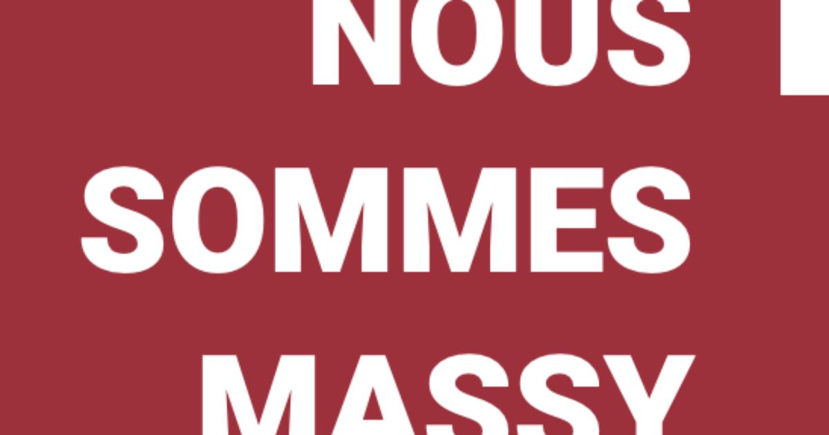 """L'Appel """"Nous Sommes Massy"""""""