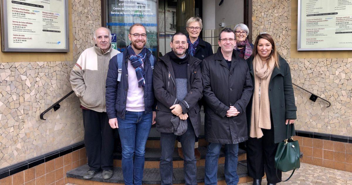 Priorité à la santé : une délégation a visité un Centre Municipal de Santé à Malakoff