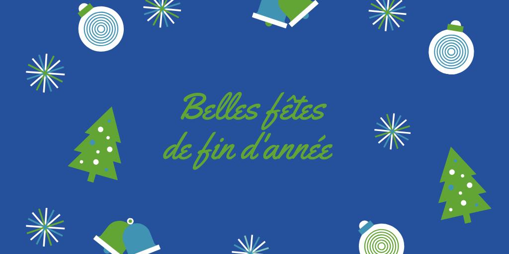 🎆 Belles fêtes de fin d'année ! 🎁