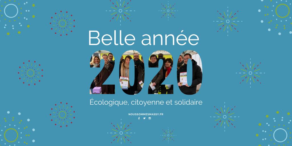 🎆 Belle année 2020 : écologique, citoyenne et solidaire 🎆