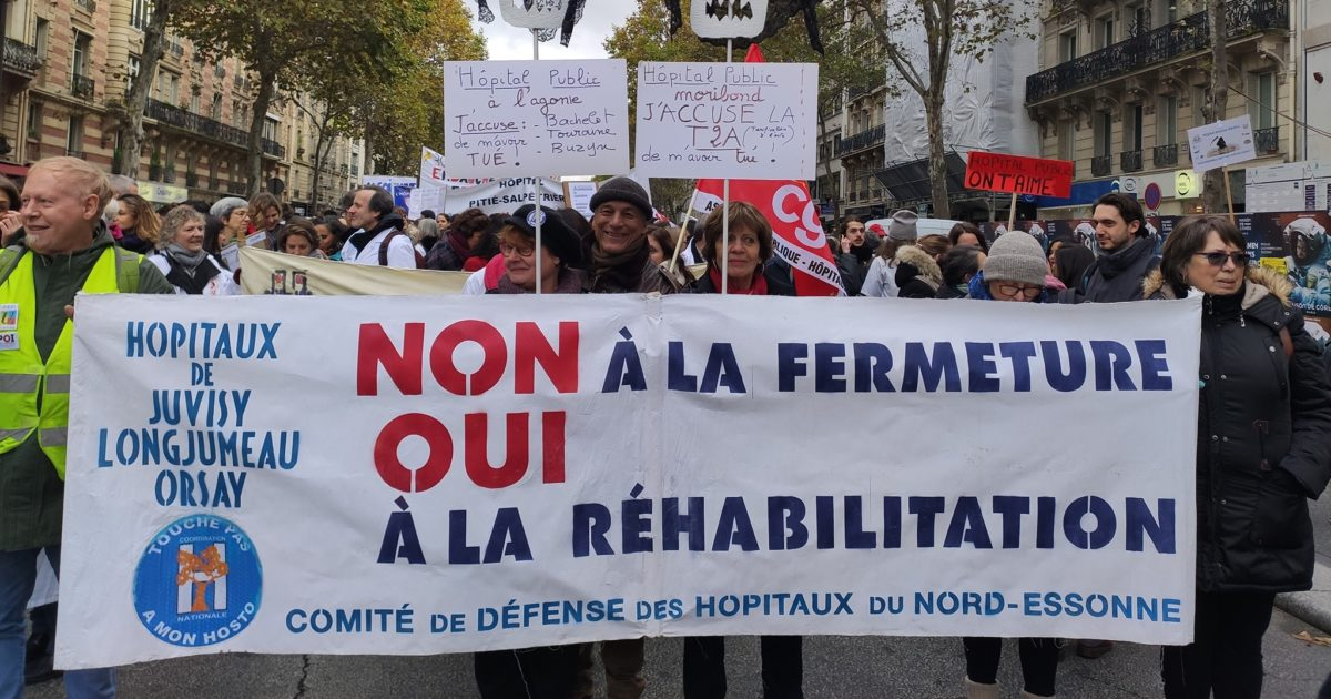 Communiqué du Comité de défense des Hôpitaux du Nord Essonne