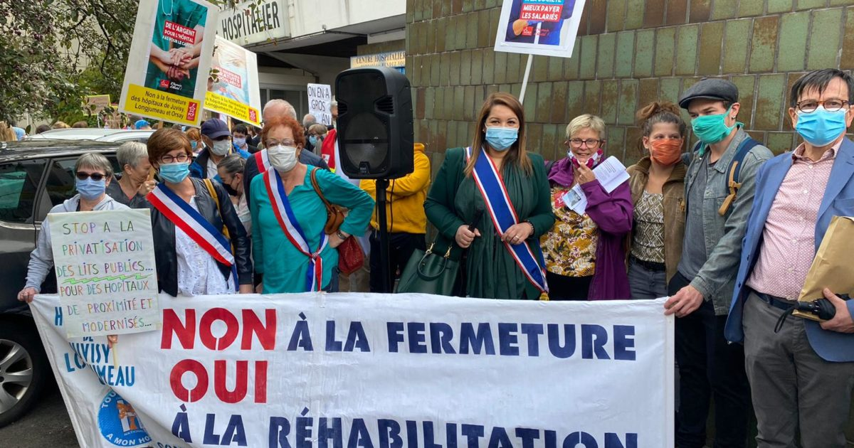 Refus de la municipalité de soutenir les hôpitaux du Nord-Essonne et le personnel soignant