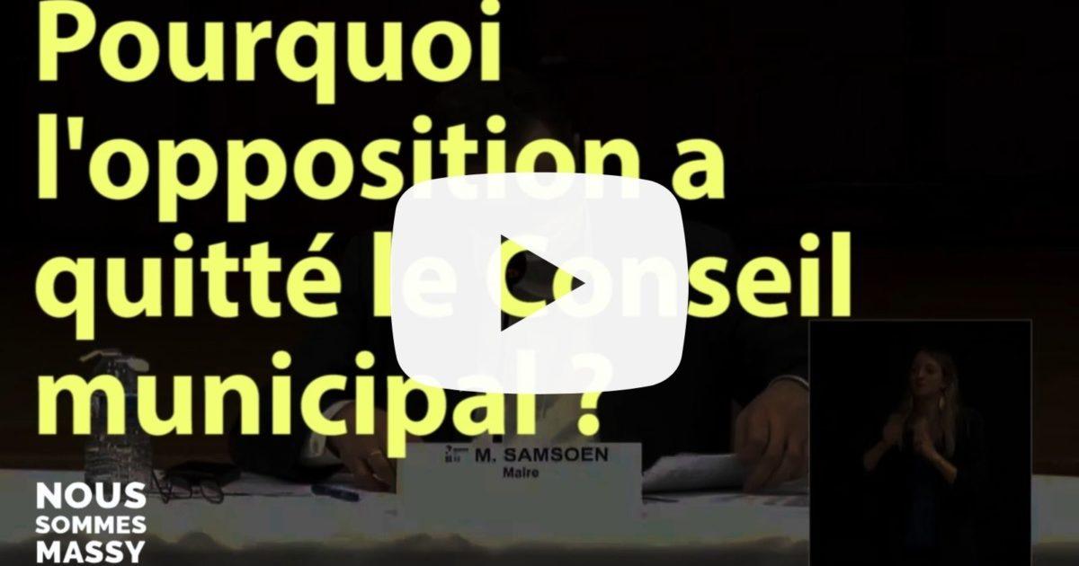 Pourquoi l'opposition a quitté le Conseil municipal jeudi 4 février ? (vidéo)